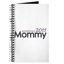 Mommy Est 2011 Journal