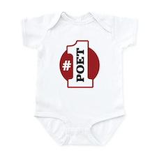 #1 Poet Infant Bodysuit
