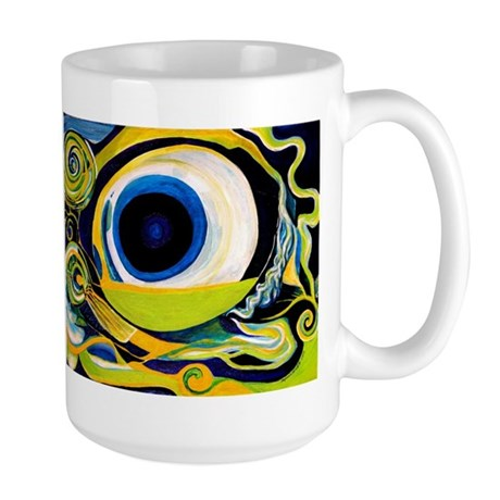 Optic Nerve Large Mug