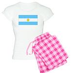 Argentina Blank Flag Women's Light Pajamas