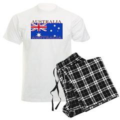 Australia Australian Flag Pajamas