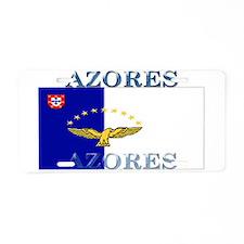 Azores Flag Aluminum License Plate