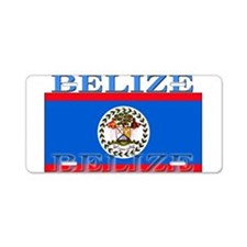 Belize Belizean Flag Aluminum License Plate