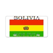 Bolivia Bolivian Flag Aluminum License Plate