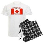 Canada Canadian Flag Men's Light Pajamas