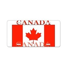 Canada Canadian Flag Aluminum License Plate