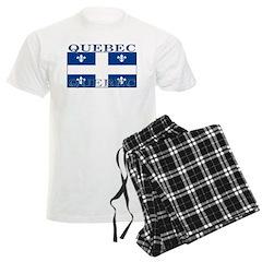 Quebec Quebecer Flag Pajamas