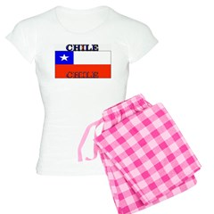 Chile Chilean Flag Pajamas