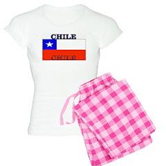 Chile Chilean Flag Pajamas