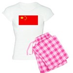 China Chinese Blank Flag Women's Light Pajamas