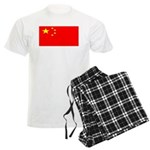 China Chinese Blank Flag Men's Light Pajamas