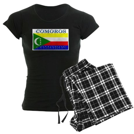 Comoros Women's Dark Pajamas