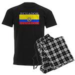 Ecuador Ecuadorian Flag Men's Dark Pajamas