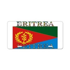 Eritrea Aluminum License Plate