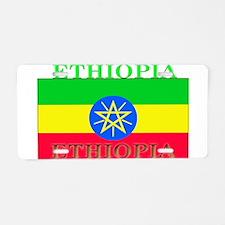 Ethiopia Ethiopian Flag Aluminum License Plate