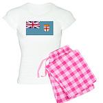 Fiji Fijian Blank Flag Women's Light Pajamas