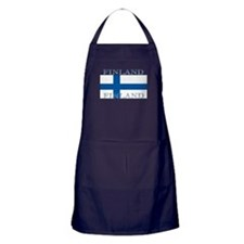 Finland Finish Flag Apron (dark)