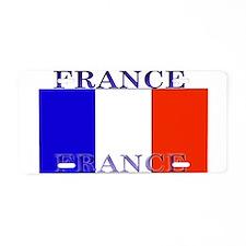France French Flag Aluminum License Plate