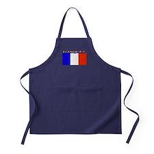 Gasquet France Flag Apron (dark)