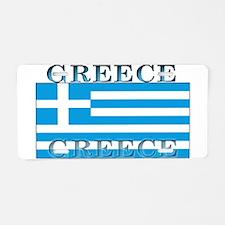 Greece Greek Flag Aluminum License Plate