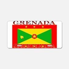 Grenada Grenadian Flag Aluminum License Plate