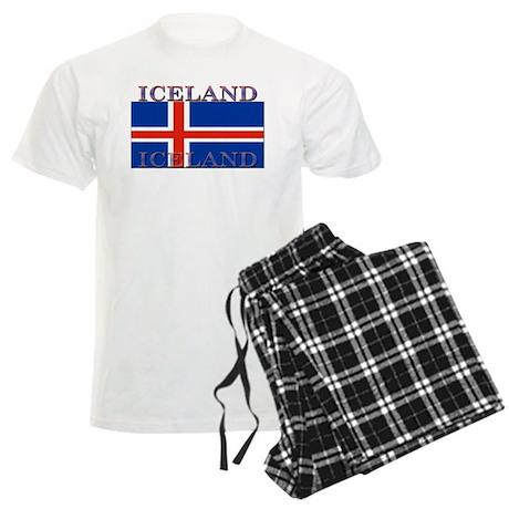 Iceland Men's Light Pajamas