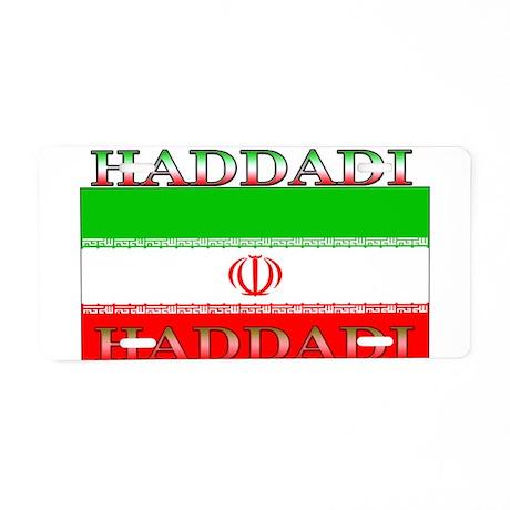 Haddadi Iran Iranian Flag Aluminum License Plate
