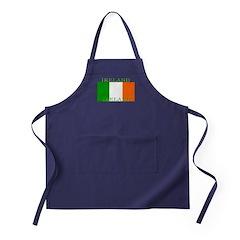 Ireland Irish Flag Apron (dark)