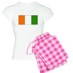 Ivory Coast Blank Flag Women's Light Pajamas