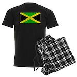 Jamaica Jamaican Blank Flag Men's Dark Pajamas