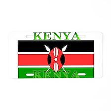Kenya Kenyan Flag Aluminum License Plate