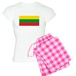 Lithuania Lithuanian Flag Women's Light Pajamas