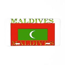 Maldives Aluminum License Plate