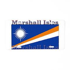 Marshall Islands Aluminum License Plate