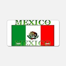 Mexico Mexican Flag Aluminum License Plate
