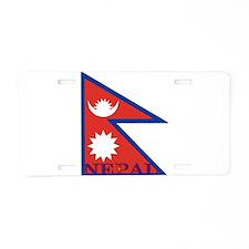 Nepal Aluminum License Plate