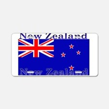 New Zealand Zealander Flag Aluminum License Plate