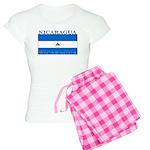 Nicaragua Nicaraguan Flag Women's Light Pajamas
