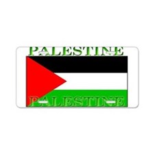 Palestine Palestinian Flag Aluminum License Plate