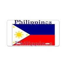 Philippines Filipino Flag Aluminum License Plate