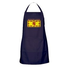 Scotland Scottish Flag Apron (dark)