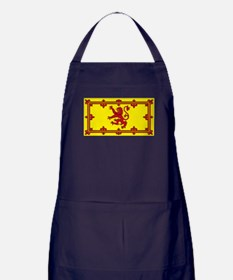 Scotland Scottish Blank Flag Apron (dark)