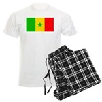 Senegal Blank Flag Men's Light Pajamas