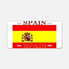 Spain Spanish Flag Aluminum License Plate