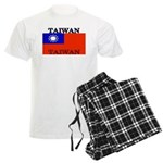 Taiwan Taiwanese Flag Men's Light Pajamas