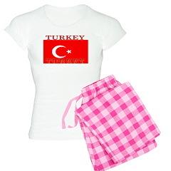 Turkey Turkish Flag Women's Light Pajamas