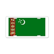 Turkmenistan Aluminum License Plate