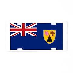 Turks & Caicos Aluminum License Plate