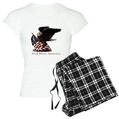 God Bless America Eagle Pajamas