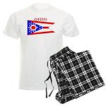 Ohio State Flag Men's Light Pajamas